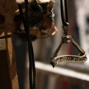 "Argent Gream×Mr.CASANOVA ""GLASS HUNGER NECKLACE"" / Gold"